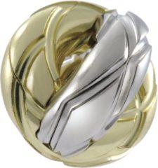 Huzzle breinbreker Cast Twist zilver/goud