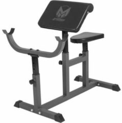 Grijze Gorilla Sports Biceps Curlbank verstelbaar & belastbaar tot 150kg