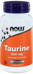 Now Foods Now Taurine 500 Mg Trio (3x 100cap)