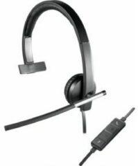 Zwarte Logitech H650e - Mono Headset met USB