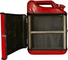 Designed By Man Jerrycan cabinet basic+ rood