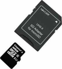 Zwarte Ninzer® UHS-II SD Adapter voor micro SD kaarten / Ultra High Speed MicroSD naar SD