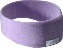 Paarse SleepPhones® Draadloos v7 Fleece Quiet Lavender/Lila - Large/Extra Large