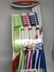 Aquafresh Flex tandenborstel medium 6 stuks
