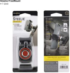 NITE Ize Steelie FreeMount Komponente Auto-telefoonhouder 360° draaibaar 57 - 90 mm