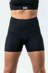 Zwarte Reeva performance sportbroek - Geschikt voor Fitness en CrossFit - Dames - Medium