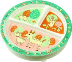SugarBooger Sugar booger bord met 3 vakken Baby Deer