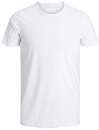 Afbeelding van Jack & Jones Basic O-Neck Sportshirt - Maat S - Mannen - wit