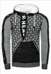 Zwarte Rusty Neal Trui hoodie - 13362 / wit
