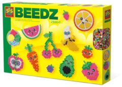 SES Creative BEEDZ - Strijkkralen Kawaii fruit