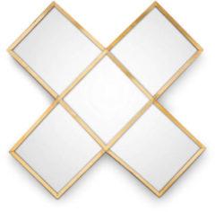 Gouden Vtwonen spiegel Kruis Gold 45cm ( cm)