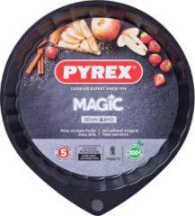 Pyrex Magic Taartvorm - Metaal - Ø30 cm - Zwart