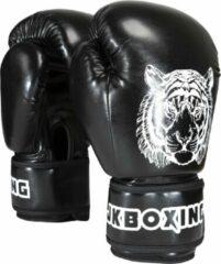 JKBOXING bokshandschoenen 14 oz. Zwart
