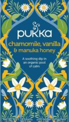 Pukka Org. Teas Chamomile vanille/manuka honing 20 Stuks