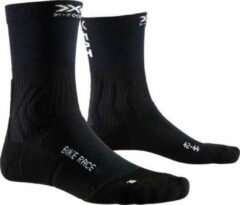 X-socks Sokken Bike Race Mtb Polyamide/polyester Zwart Mt 35-38