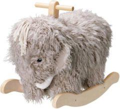Grijze Kids Concept Schommelpaard Rocking Mammoet NEO | Kid's concept