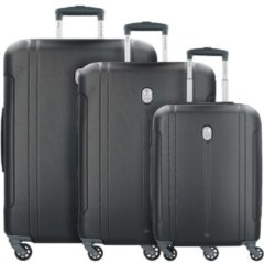 ABS-3446 4-Rollen Kofferset 3tlg. Delsey schwarz