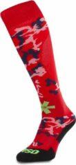 Osaka Red Camo Hockeysokken - Sokken - rood - 28-31