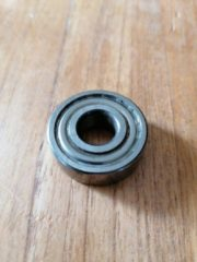 Bolbearings LAGER 6201 ZZ Asgatdiameter d=12mm ∙ Buitendiameter D=32mm ∙ Breedte B=10mm