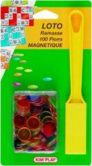 Braet Lotto 100 Magnetische Jetons - met Opraper