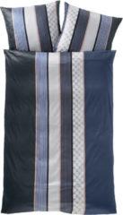 Mako Satin Bettwäsche 'Cornflower Stripes' JOOP! blue