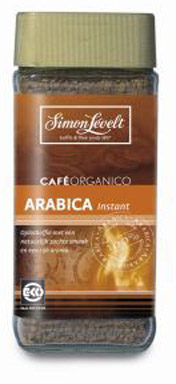 Afbeelding van Simon Levelt Cafe Organico Arabica Instant (100g)