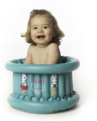 Cupcake Babies Babybadje, Turquoise Badje/ Roze Eendje