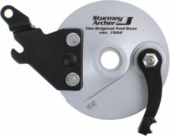 Sturmey Archer Ankerplaat Rxl-rd5 Trommelrem 90 Mm Staal Zilver