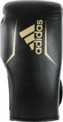 Adidas Speed 75 (Kick)Bokshandschoenen Zwart/Goud 16oz