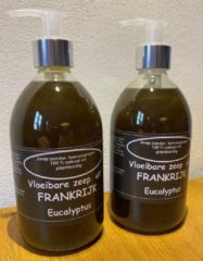 Provendi Vloeibare zeep Black Eucalyptus, set met 2 pompjes (500 ml per stuk)
