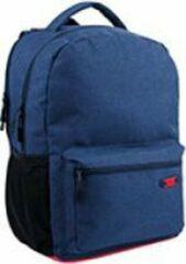 Lannoo Rugzak qc bags 42cm navy/rosso