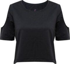 "Zwarte Yoga-Breathe-Shirt ""Raffaela"" - black M Loungewear shirt YOGISTAR"