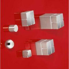 Sigel SuperDym C10 Extra-Strong Cube-Design (b x h x d) 20 x 10 x 20 mm Zilver 2 stuks GL704