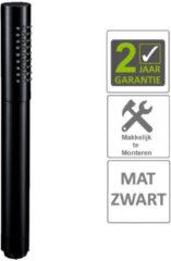 """Boss & Wessing AQS Handdouche Rond 1/2"""" Messing Mat Zwart"""