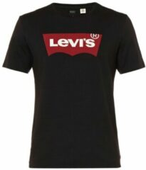 Zwarte Levi's Men's Graphic Logo T-Shirt- Graphic Black - L - Black