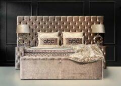 Bronze Bedden Amsterdam Boxspring met opbergruimte ▶ Opberg Boxspring Marbella ◀ compleet boxspring - 180x200 - 1x Nachtkasje erbij