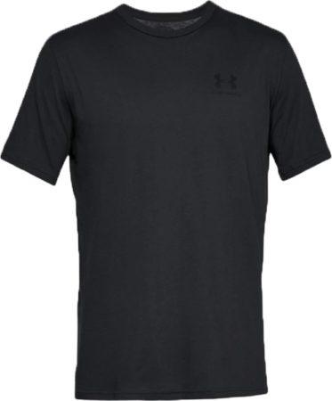 Afbeelding van Under Armour Sportstyle Left Chest Logo SS T-shirt Heren Sportshirt - Maat M - Mannen - grijs