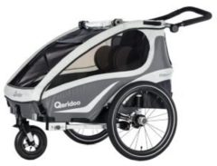 Qeridoo Kidgoo2 Fahrradanhänger Modell 2018 anthrazit
