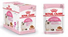 Royal Canin Fhn Kitten Instinctive Mp Pouch - Kattenvoer - 12x85 g - Kattenvoer