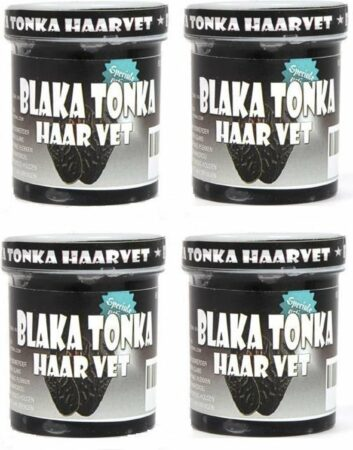 Afbeelding van Tonka Suriname 4x Blaka Tonka Haarvet 60 Gram