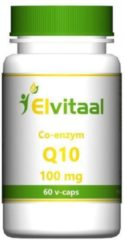 Elvitaal Co Enzym Q10 100mg Capsules 60st