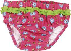 Playshoes - Kid's UV-Schutz Windelhose Blumen - Zwembroek maat 74/80, roze