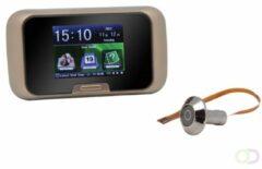 Zwarte Eques Deur Kijkgat Camera - deurspioncamera - LCD Recorder