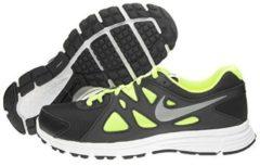 Nike Revolution 2 Gs Scarpe da Corsa, Uomo, Nero/Lime, 37.5