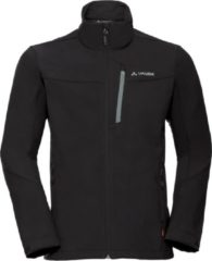 Zwarte VAUDE Men's Cyclone Jacket V Outdoorjas Heren - Maat M