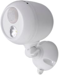 Zwarte Mr. Beams MR.BEAMS Wireless LED Spotlight with Motion Sensor and Photocell, 140 lumens, MB330-WHT-01-01
