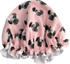 Roze Vagabond Traditionele Engelse Douchemuts - Dogs Pink