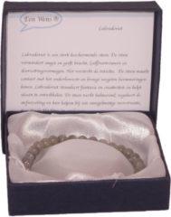 Een Wens Halfedelstenen Armband in Geschenkdoos Labradoriet