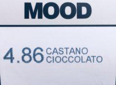 Bruine MOOD Hair Color 4.86 chocolate Brown (3*tubes)