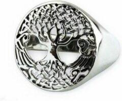 Etnox Tree of life Zilveren Ring maat 56
